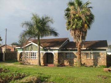 The Guesthouse in Nyalenda slums, Kisumu.