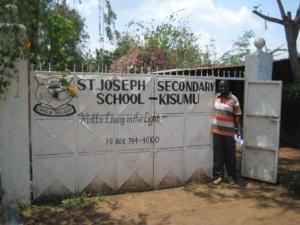 ... 2009 Friends Pioneer started St Joseph Secondary School in Kisumu