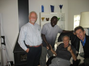 Mr Tumba, Joseph, Jerry and Bo Setterlund